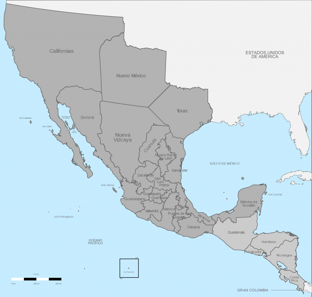 Mexican Texas - Wikipedia - Texas Independence Map