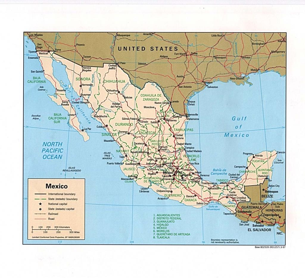Mexico Maps - Perry-Castañeda Map Collection - Ut Library Online - Atlanta Texas Map