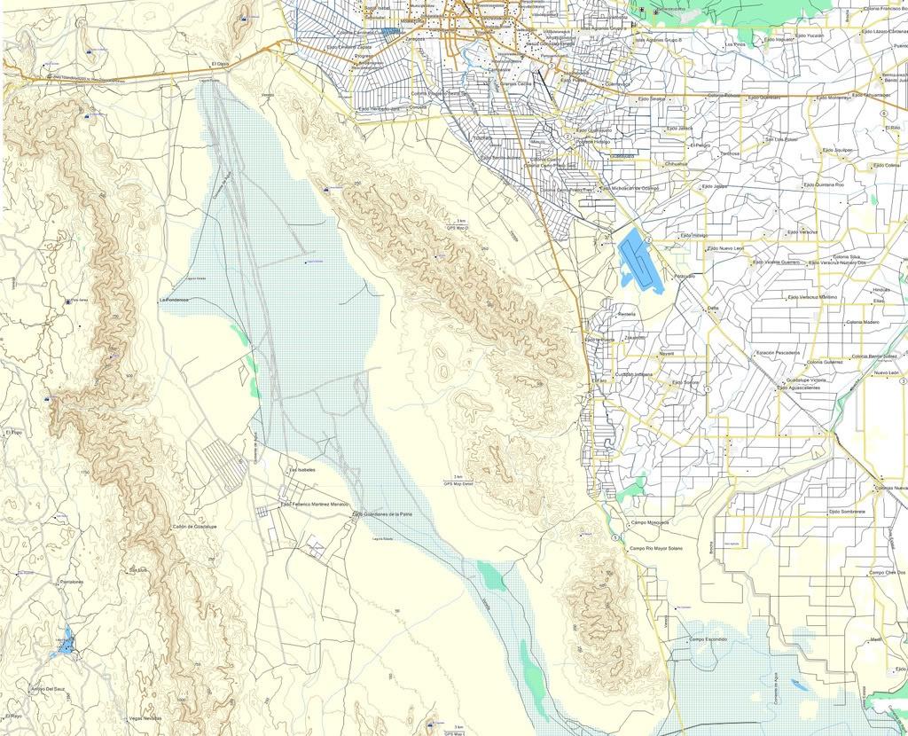 Mexico Topographic Map-E32 Ideal For Off-Road / Garmin | Adventure Rider - Baja California Topographic Maps