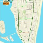 Miami Beach Free Trolley Service | South Beach Magazine   Map Of Miami Beach Florida Hotels