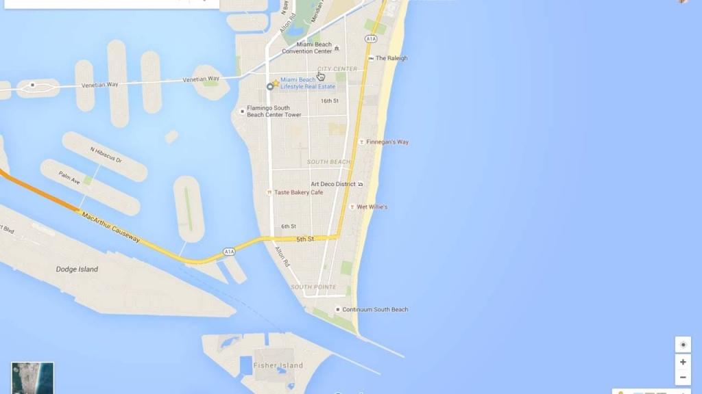 Miami Beach Neighborhood Tour & Google Maps Walkthru - Google Maps South Beach Florida