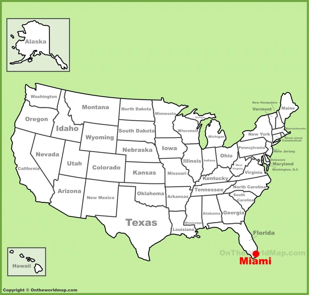 Miami Maps | Florida, U.s. | Maps Of Miami - Miami Florida Map