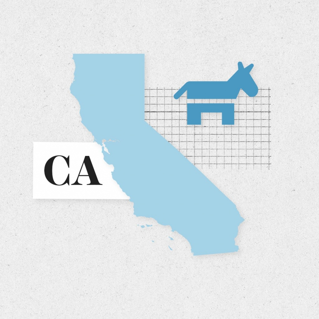 Midterms 2018: These 9 California House Races Could Make Or Break - California 25Th District Map