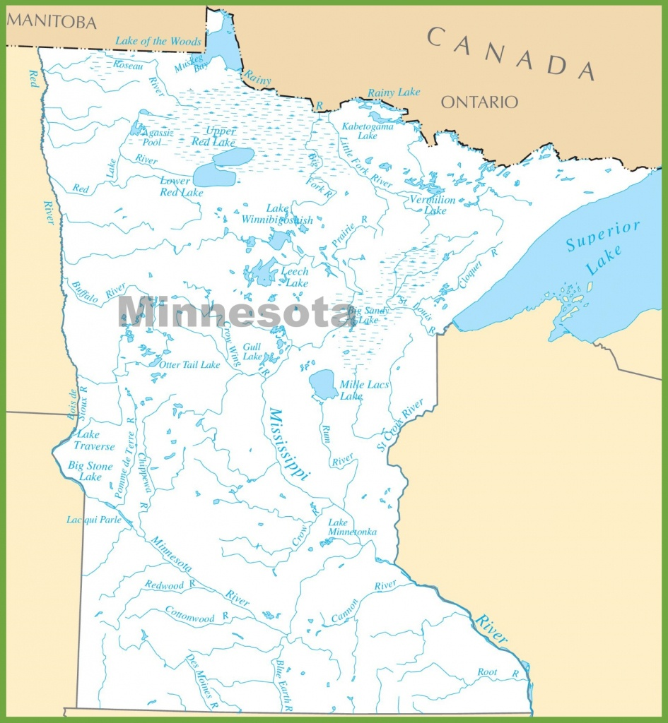 Minnesota State Maps | Usa | Maps Of Minnesota (Mn) - Printable Lake Minnetonka Map