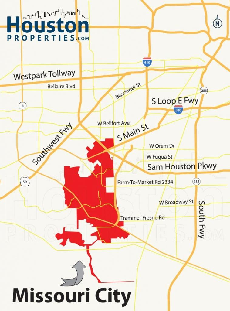 Missouri City Tx Map   Great Maps Of Houston   Missouri City - Stafford Texas Map