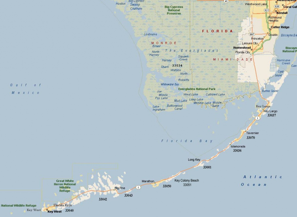 Monroe County Florida Zip Code Map - Zip Code Map Of Palm Beach County Florida