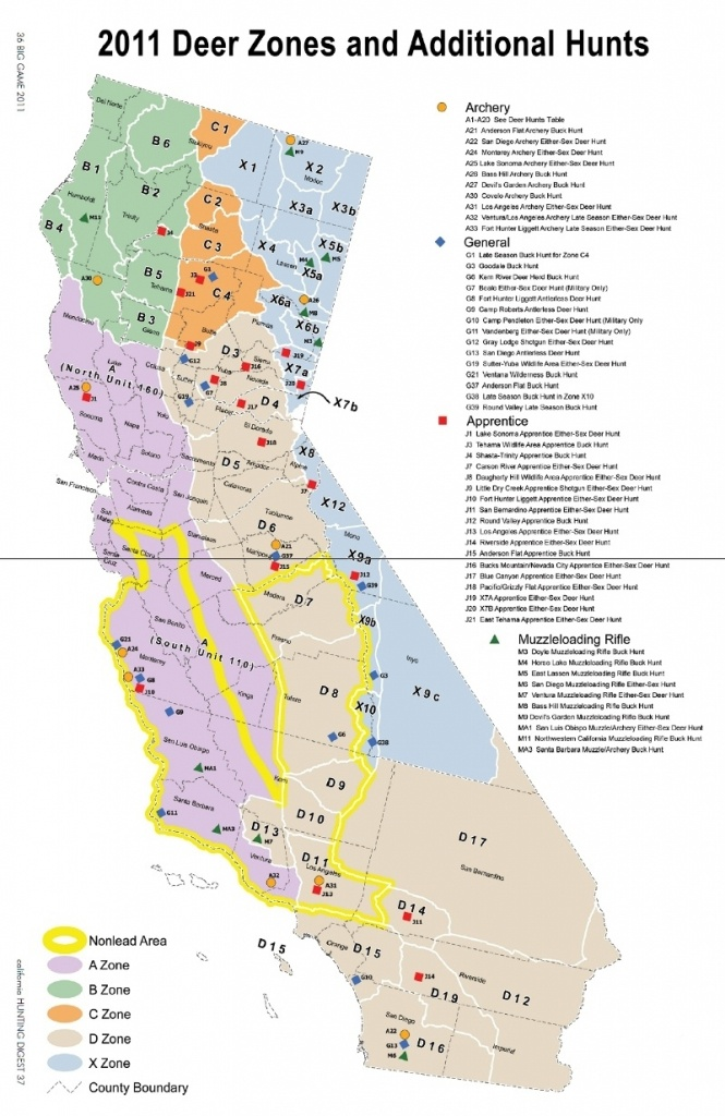 Moonbeam Vetoed The Cali Semiauto Ban – Page 3 – Ar15 Within - California Hunting Zone Map