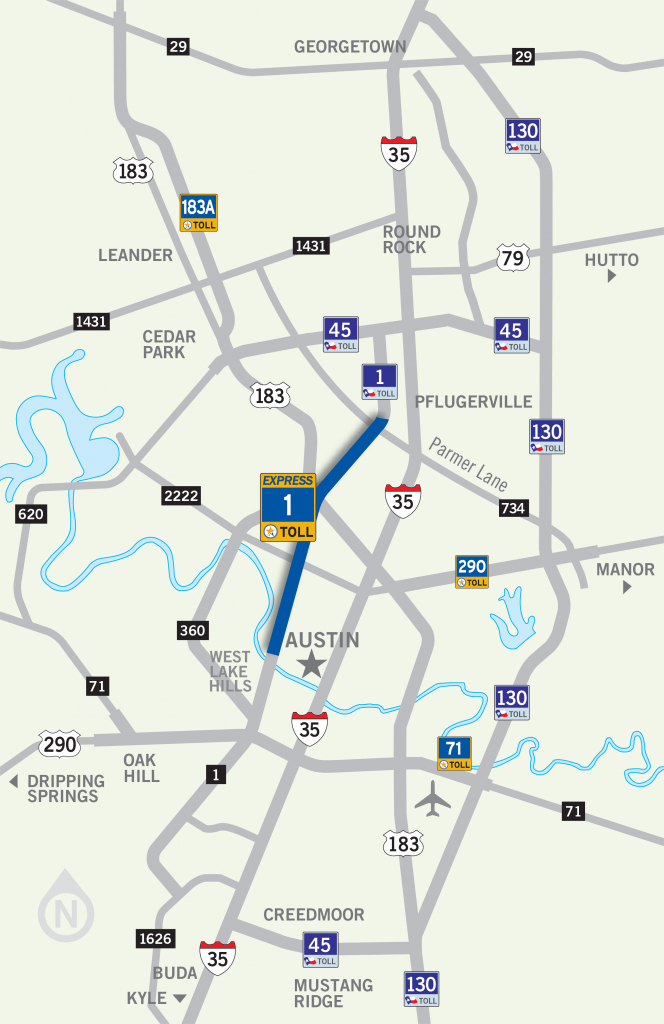Mopac Express Lane | Central Texas Regional Mobility Authority - I 35 Central Texas Traffic Map