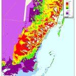 More Sea Level Rise Maps Of Florida's Atlantic Coast   Florida Sea Level Map