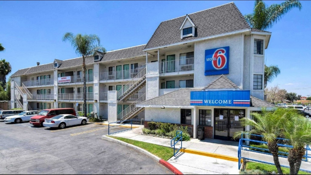 Motel 6 Buena Park Knotts Berry Farm Disneyland Hotel In Buena Park - Motel 6 Locations California Map