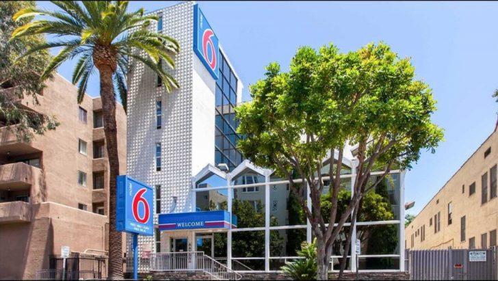 Motel 6 California Map