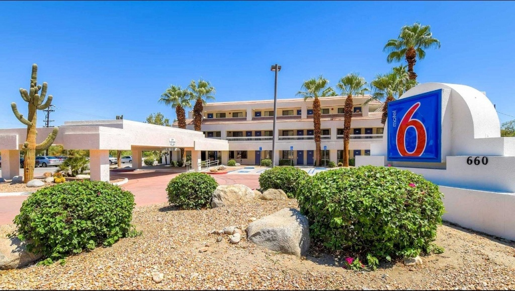 Motel 6 Palm Springs Downtown Hotel In Palm Springs Ca ($99+ - Motel 6 California Map