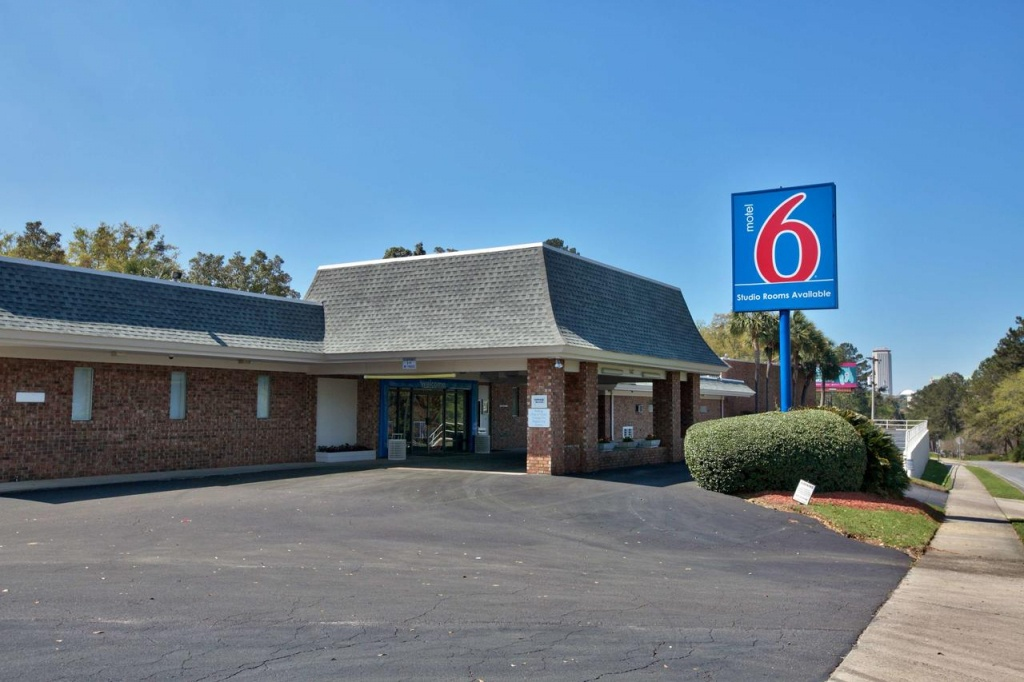 Motel 6 Tallahassee, Fl - Booking - Motel 6 Florida Map