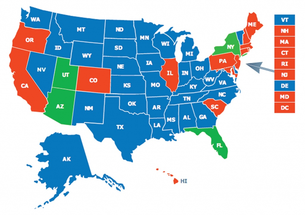 Multi-State Ccw Class - Florida Concealed Carry Permit Reciprocity Map