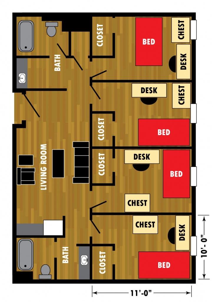 Murray Hall | Halls | Housing | Ttu - Texas Tech Housing Map