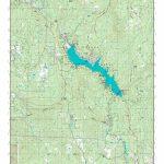 Mytopo Bass Lake, California Usgs Quad Topo Map   Bass Lake California Map