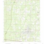 Mytopo Chipley, Florida Usgs Quad Topo Map   Map Chipley Florida