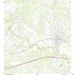 Mytopo Luling, Texas Usgs Quad Topo Map - Luling Texas Map