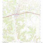 Mytopo Ozona, Texas Usgs Quad Topo Map   Ozona Texas Map