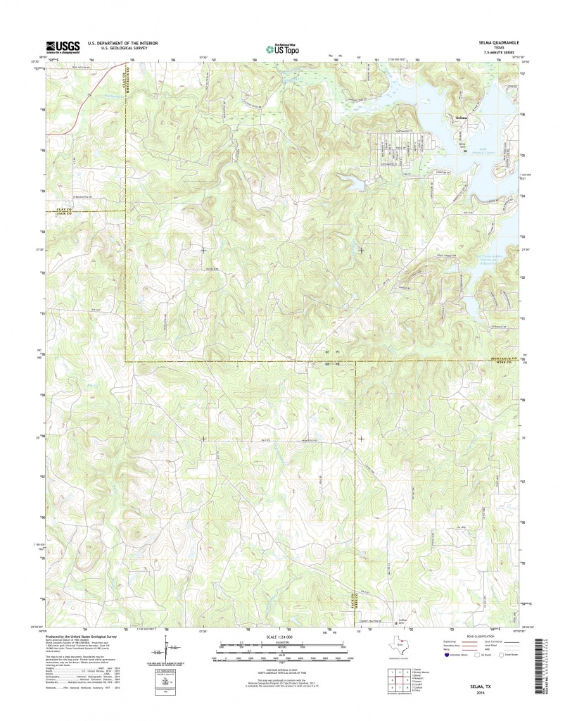 Mytopo Selma, Texas Usgs Quad Topo Map - Selma Texas Map