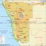 Namibia Map, Map Of Namibia   Printable Road Map Of Namibia