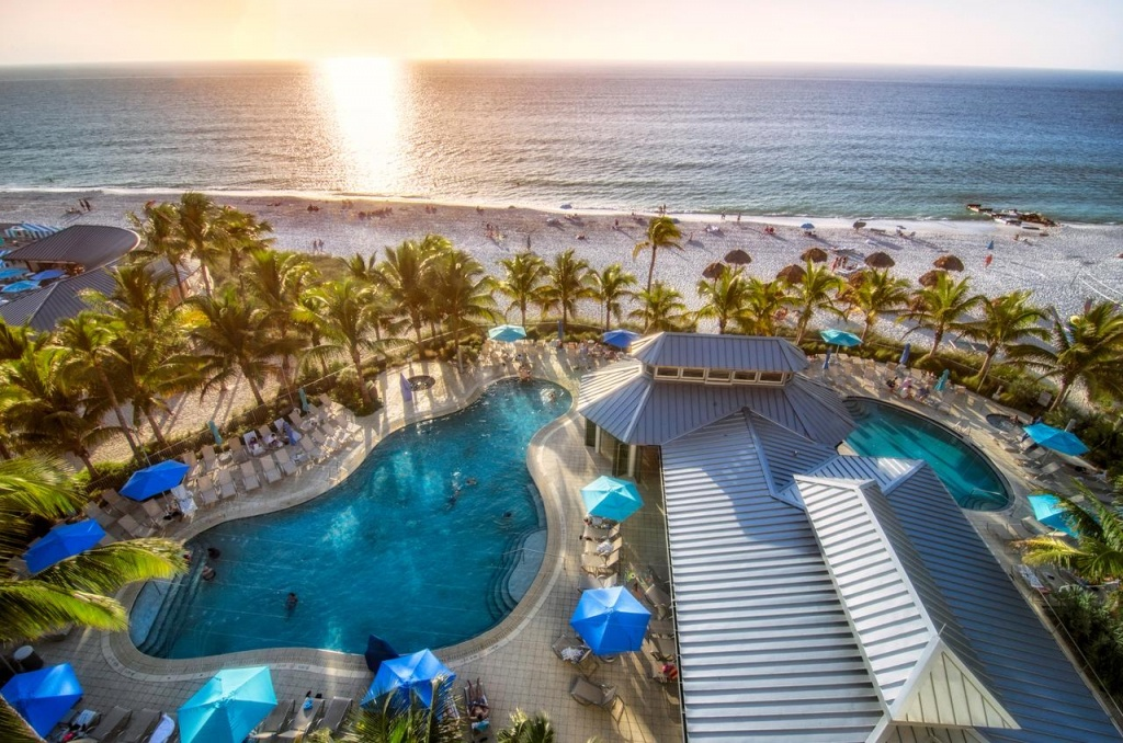 Naples Beach Hotel, Fl - Booking - Map Of Hotels In Naples Florida