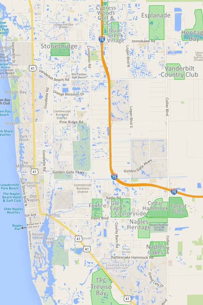 Naples Fl Map   Ageorgio - Map Of Naples Florida Neighborhoods