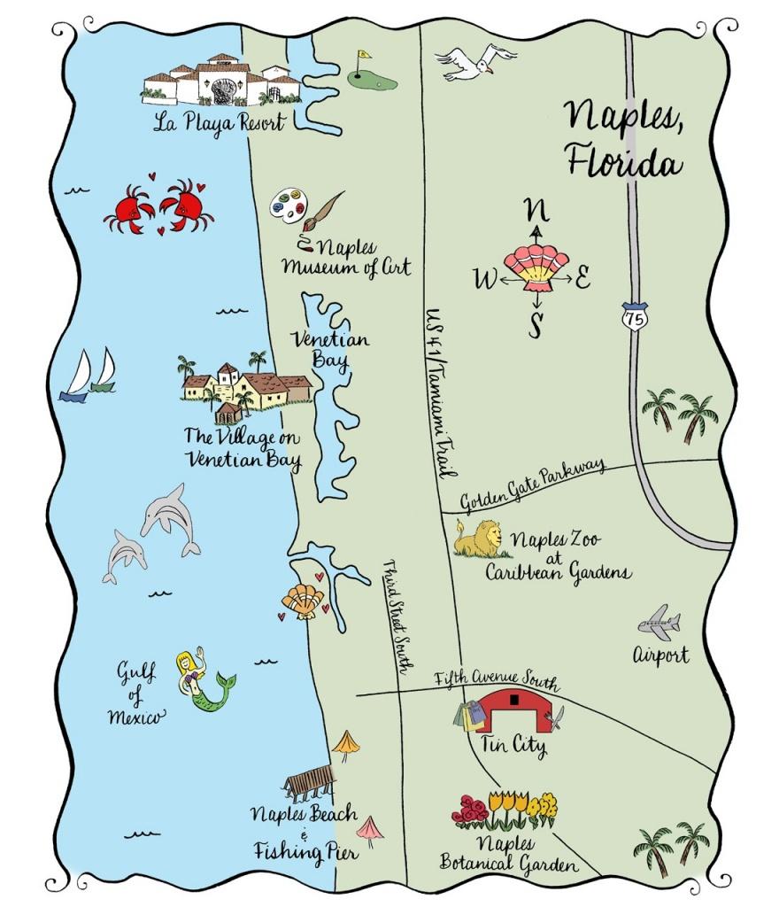 Naples Fl Map | Ageorgio - Naples In Florida Map