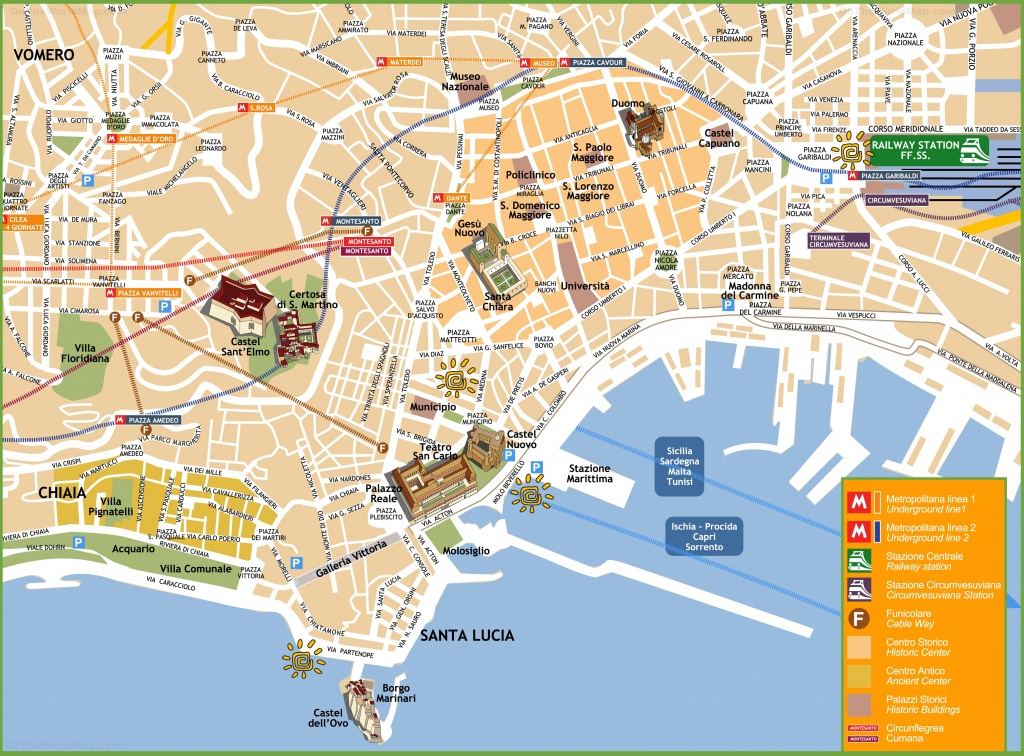 Naples Tourist Attractions Map - Naples Florida Attractions Map