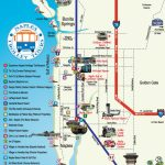 Naples Trolley Tours - Route Map | Florida | Map, Florida, Naples - Map Of North Naples Florida