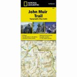 National Geographic John Muir Trail   Trails Illus Topo Map   #1001   National Geographic Topo Maps California
