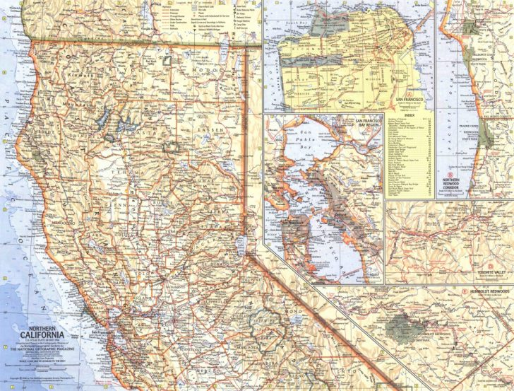 National Geographic Maps California