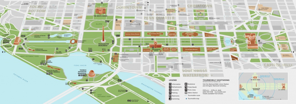 National Mall Maps | Npmaps - Just Free Maps, Period. - Printable Walking Map Of Washington Dc