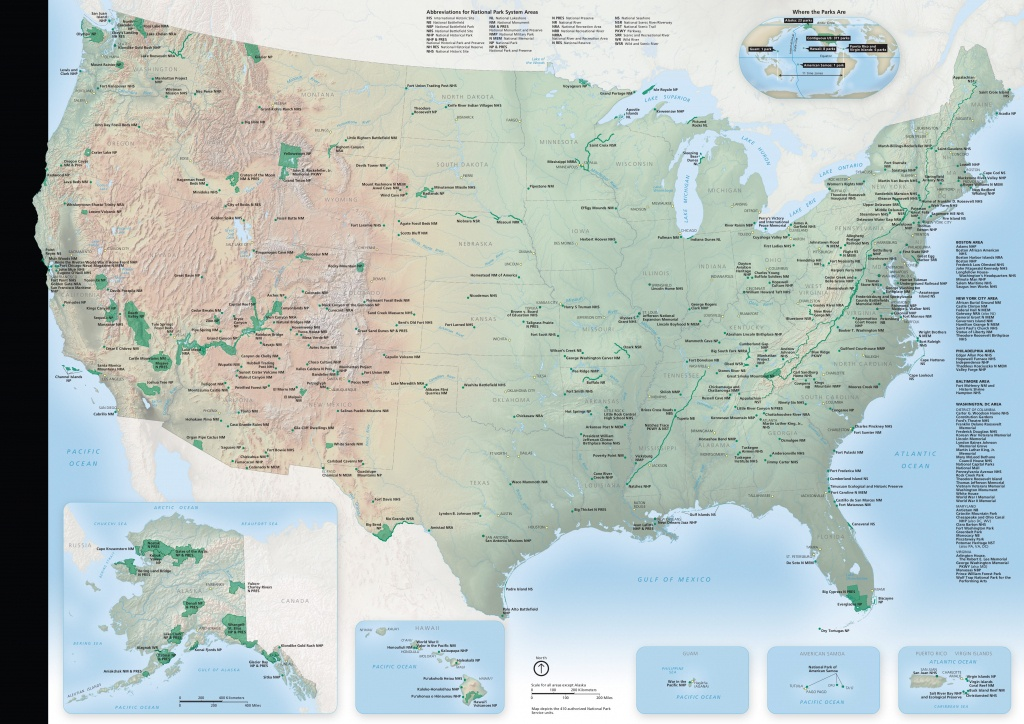 National Park Maps | Npmaps - Just Free Maps, Period. - Printable Map Of Us National Parks