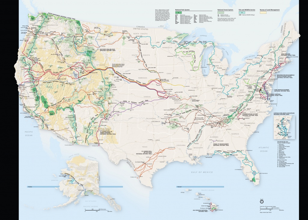 National Trails Maps | Npmaps - Just Free Maps, Period. - Lewis And Clark Trail Map Printable