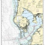 Nautical Map Of Tampa | Tampa Bay And St. Joseph Sound Nautical Map   Nautical Maps Florida