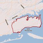 Naval Air Station Pensacola   Florida Navy Bases Map