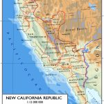 Ncr Territory   Cool Map! : ) | Fun And/or Cool Stuff | Map, Fallout   Map Of The New California Republic