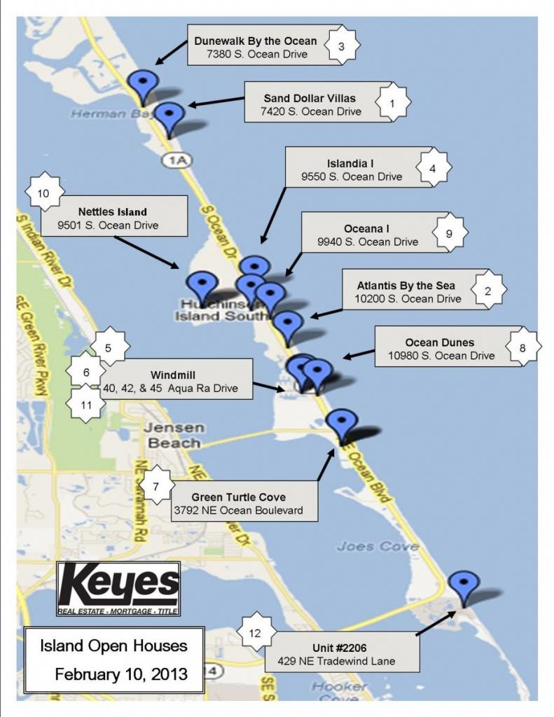 Nettles Island, Florida | The Pearson Group - Hutchinson Beach Florida Map