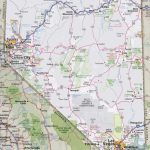Nevada Road Map - Road Map Of California And Nevada