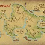 Neverland Map Printable | Freebie! Neverland Map Download | Kids   Neverland Map Printable