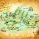 Neverland Mapmercedesjk.deviantart On @deviantart | Birthday   Neverland Map Printable