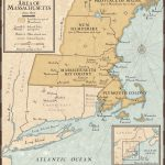 New England Colonies In 1677 | National Geographic Society   New England Colonies Map Printable