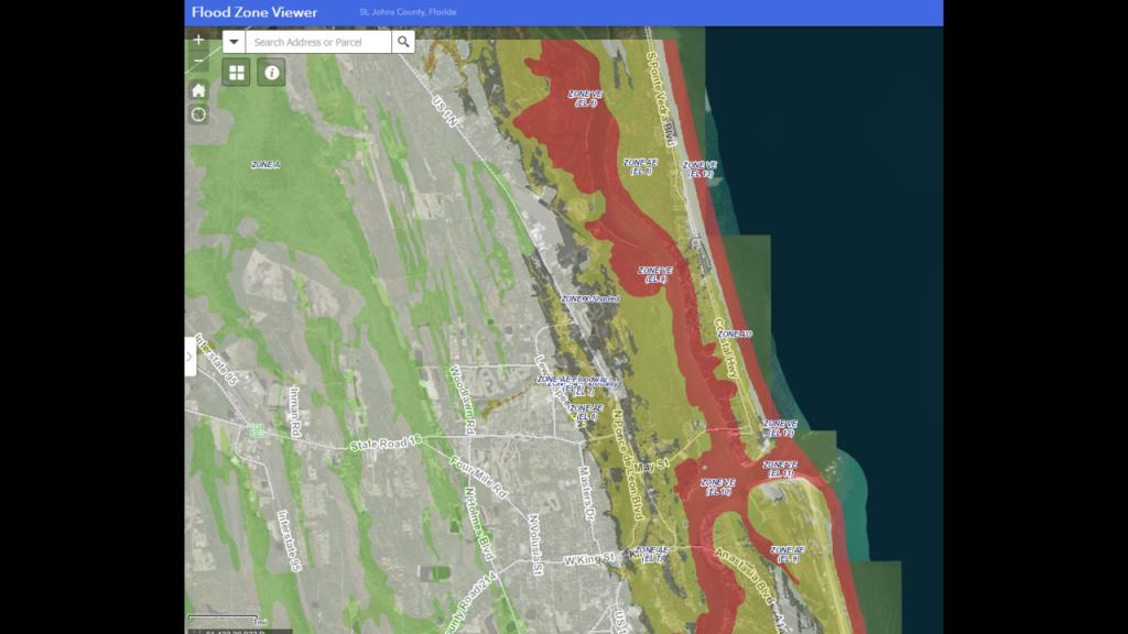 New Fema Flood Maps Confuse Some St. Johns County Area Homeowners - Fema Flood Maps St Johns County Florida