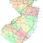 New Jersey Printable Map - Printable Map Of Monmouth County Nj