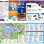 New Map For Downtown Disney/disney Springs (Pdf) | Disney Springs - Map Of Disney Springs Florida