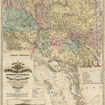 New Map Of The Territory Of Arizona, Southern California And Parts   California Territory Map