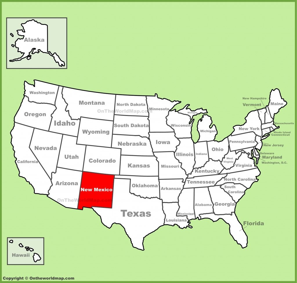 New Mexico State Maps | Usa | Maps Of New Mexico (Nm) - Map Of New Mexico And Texas