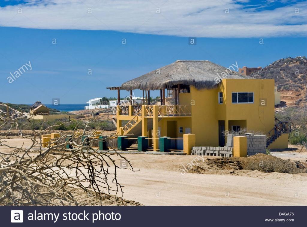 New Vacation Houses Near Santa Cruz Zacaticas East Of San Jose Del - Baja California Real Estate Map