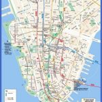New York Tourist Map Pdf Manhattan Street   Printable Map Manhattan Pdf